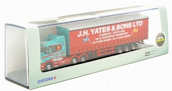 Oxford NTCAB001 Scania T Cab Curtainside J H Yates and Sons Scotland